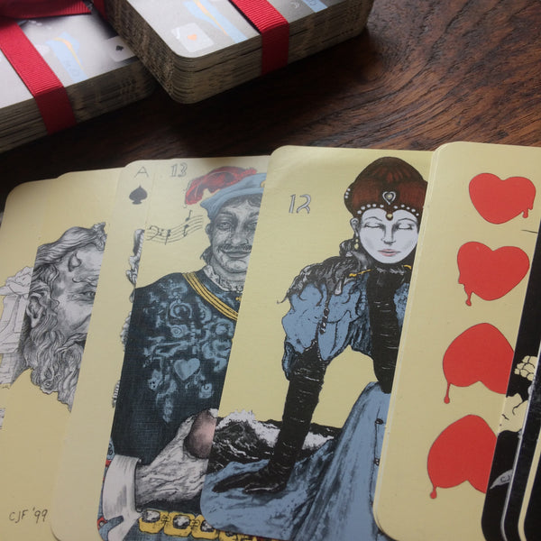 """Vintage"" Playing Card Oracles Deck: FINAL INVENTORY"