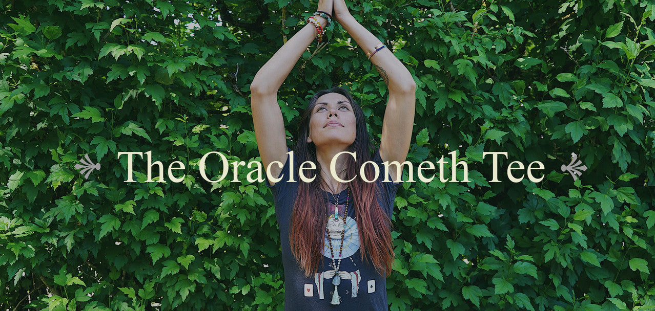 """The Oracle Cometh"" Tee"