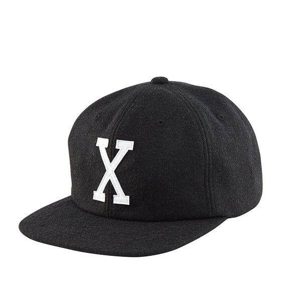 TRIPLE-X-WOOL-BASEBALL-CAP-BLACK