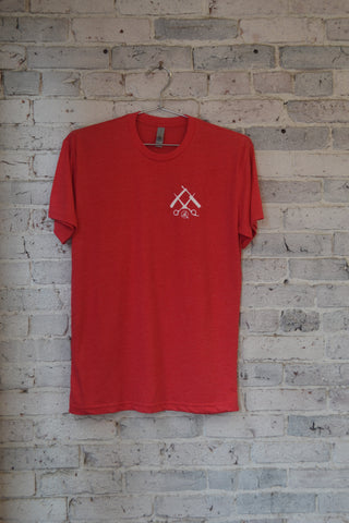 OG Tee-Heather Red