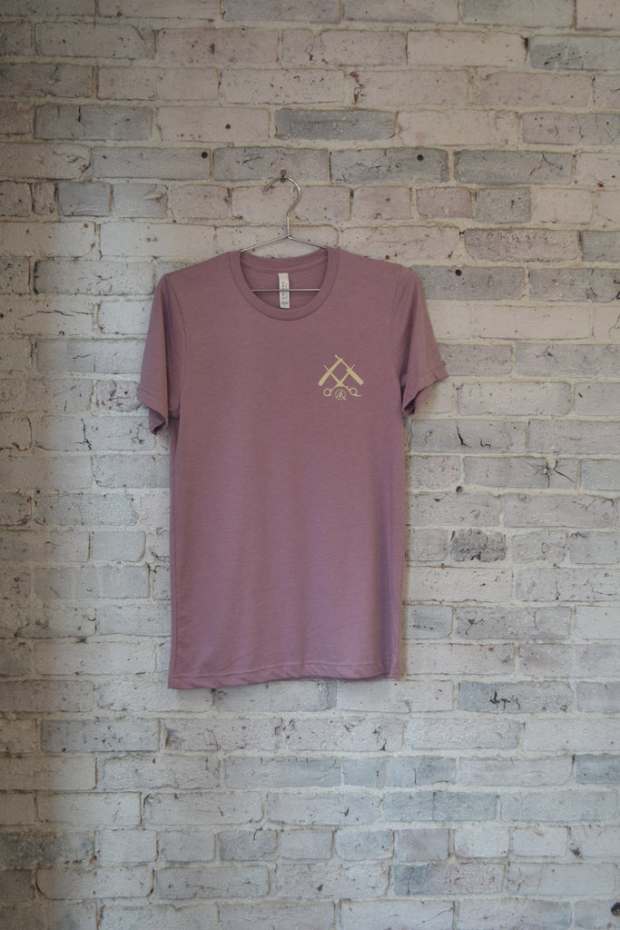 OG Tee-Heather Pink/Cream