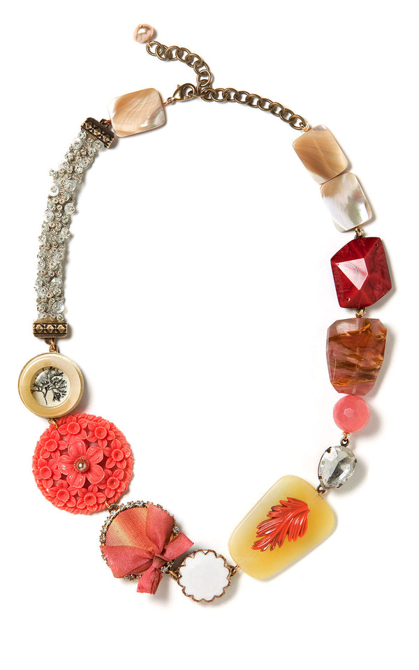 Cassandra Statement Necklace by Elements Jill Schwartz