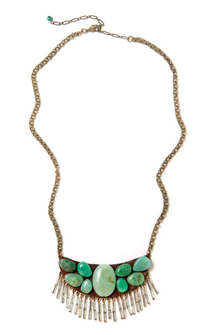 Turquoise Treasure Necklace #A36N