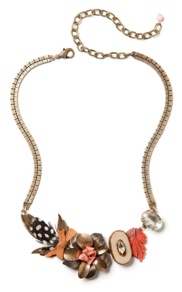 Birds of a Feather Necklace by Elements Jill Schwartz