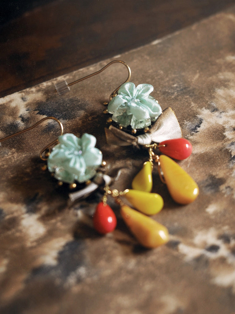Summer Flower Earrings #A20E