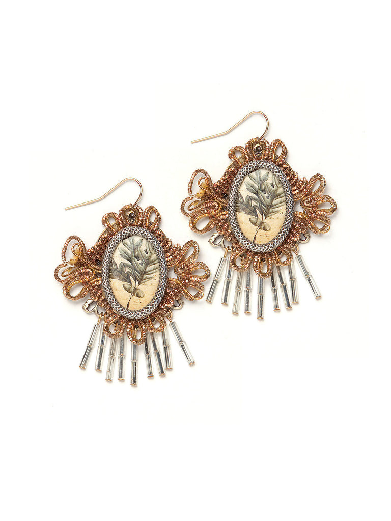 Crown Earrings #B14E