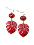 Under The Leaf Earrings  #BB02E