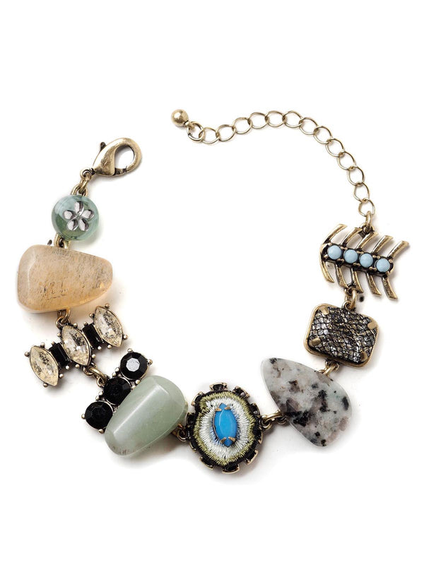 Blue Lagoon Statement Bracelet
