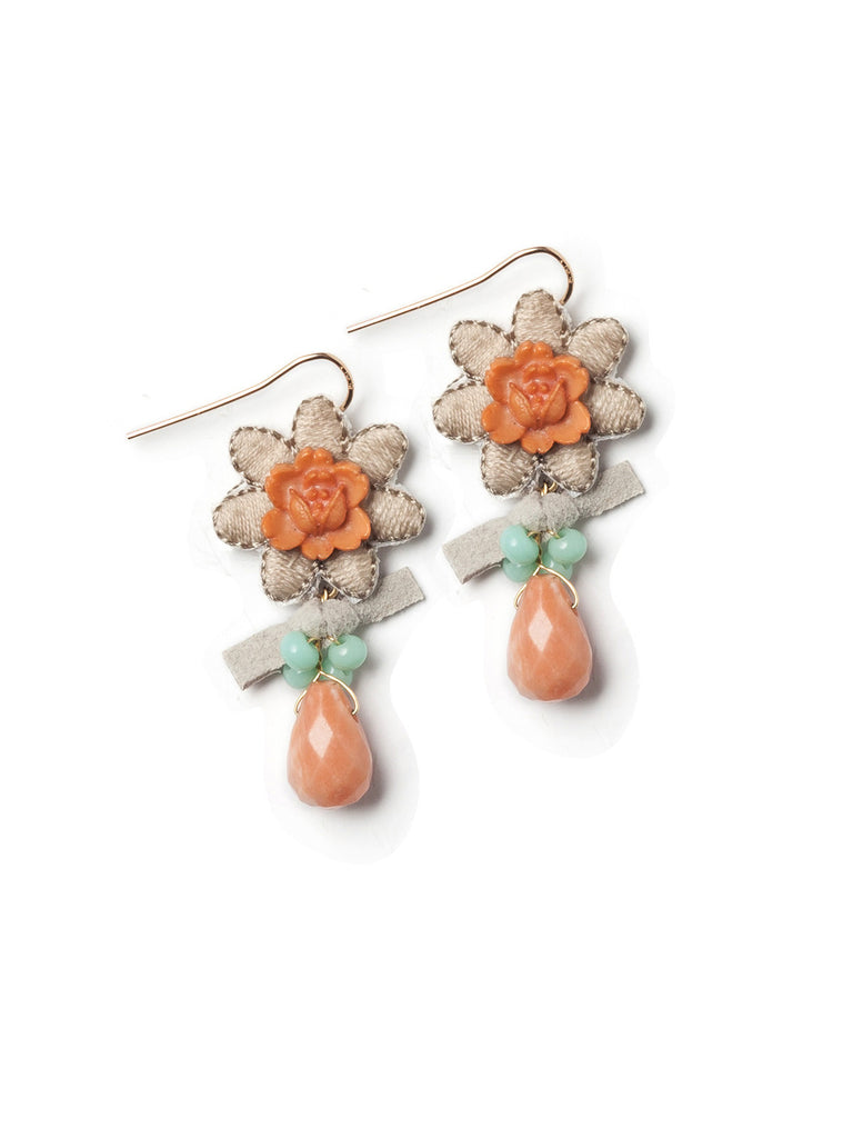 Floral Splendor Earrings #D08E