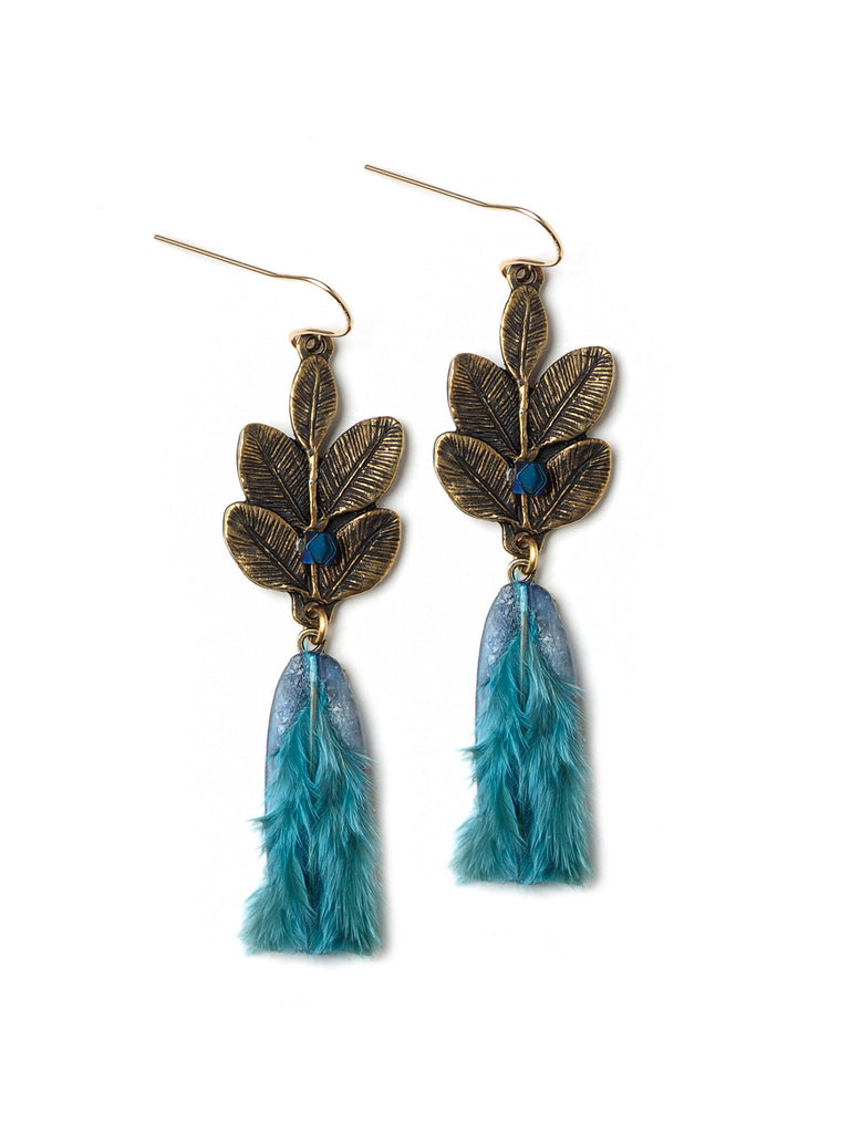 Tropic of Paradise Earrings #D19E
