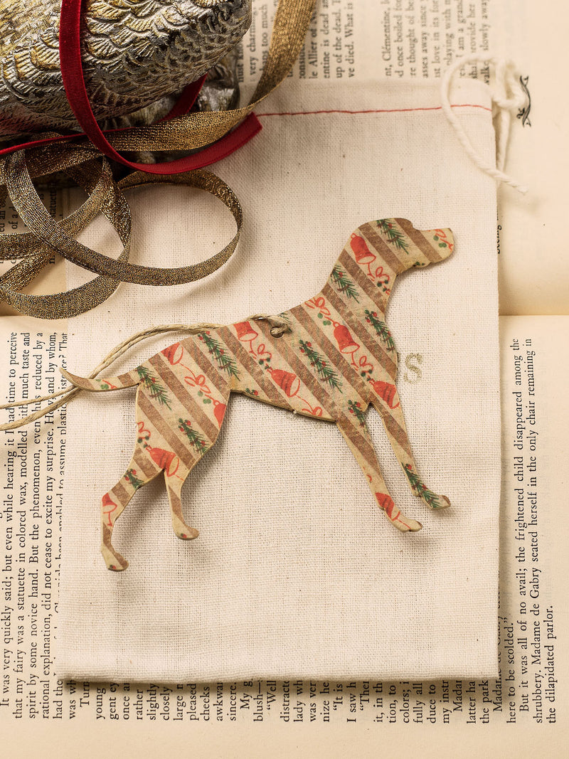 Vintage Dogs Holiday Ornament Set #OKL06