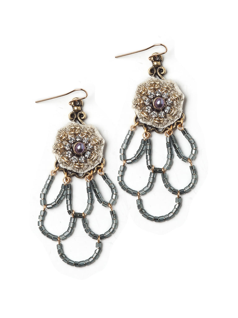 Pearl Chandelier Earrings #E30E