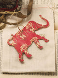 Vintage Elephant Holiday Ornament Set #OKL05