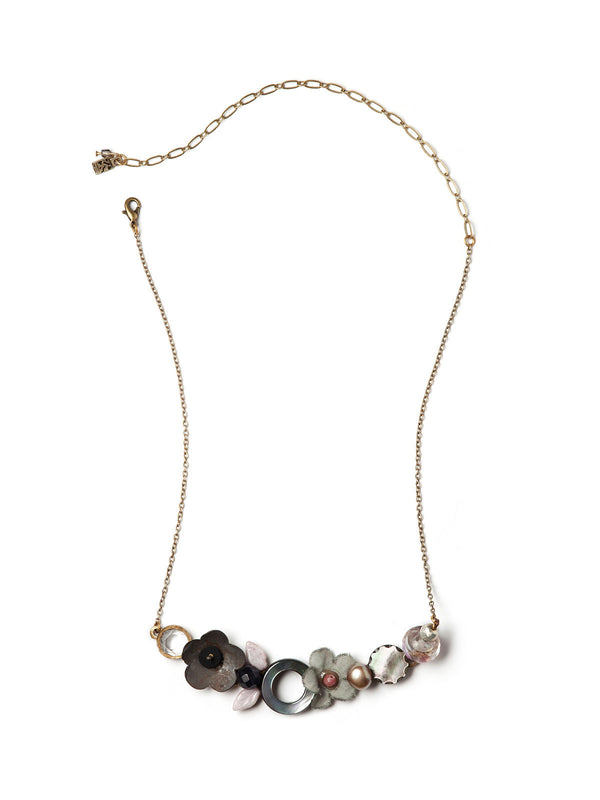 Rusted Petals Necklace