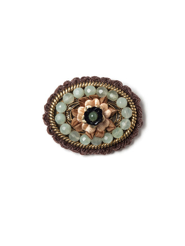 Fringed Vintage Flower #R12P
