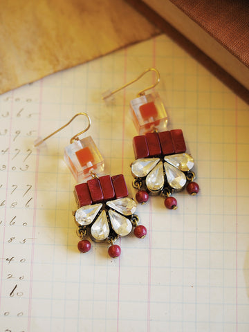 Berry Bliss Earrings #G09E