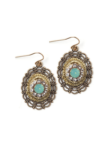 Lavish Lace Earrings #G13E
