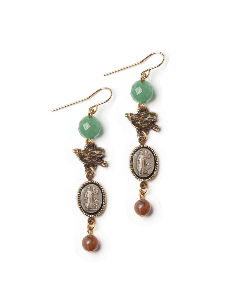 Tiny Trinkets Earrings #H03E