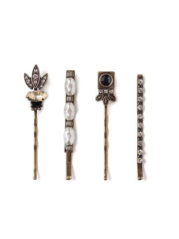 A Night At The Opera Hair Pin Set-HS14