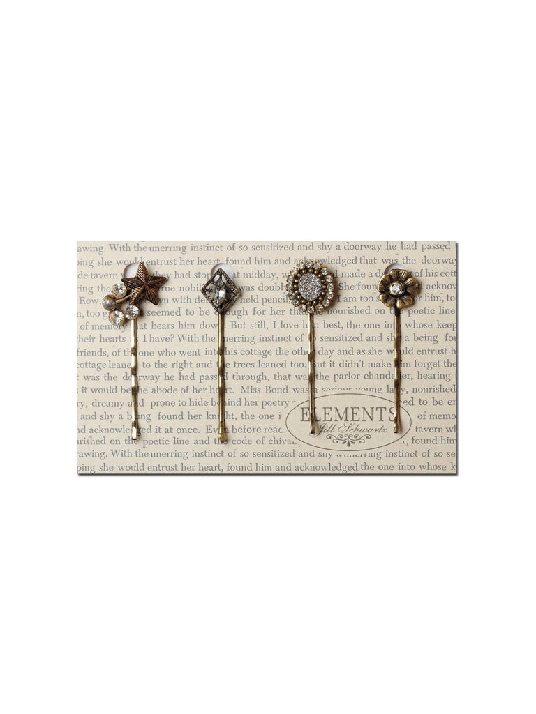 Small Sparkles Hair Pin Set #HS17
