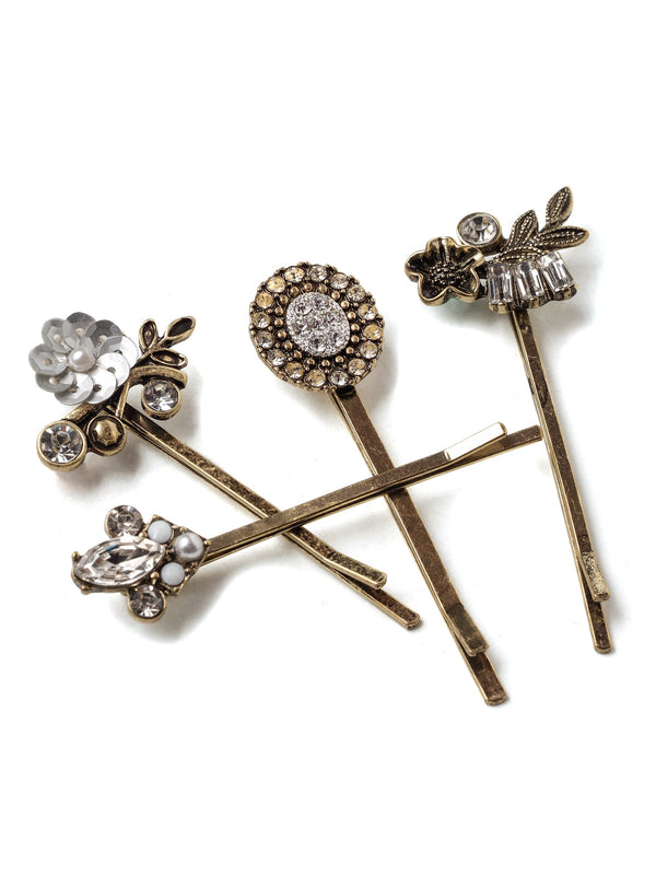 Mercurial Silver Hairpin Set