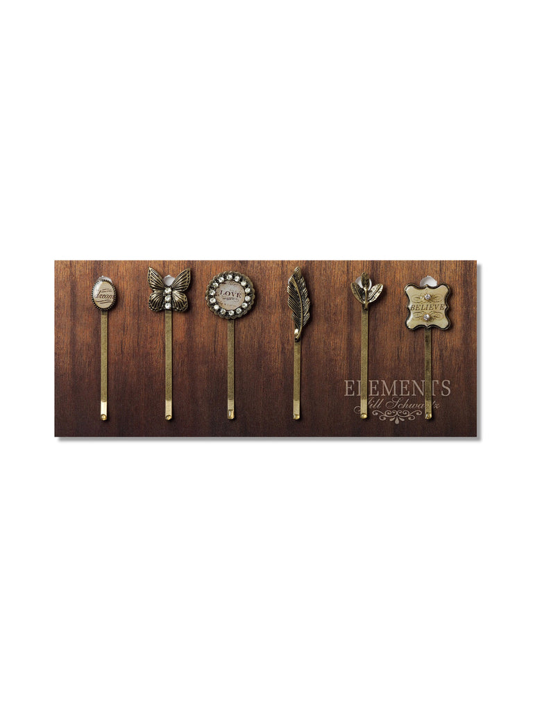 Words of Inspiration Bobby Pin Set #HS8
