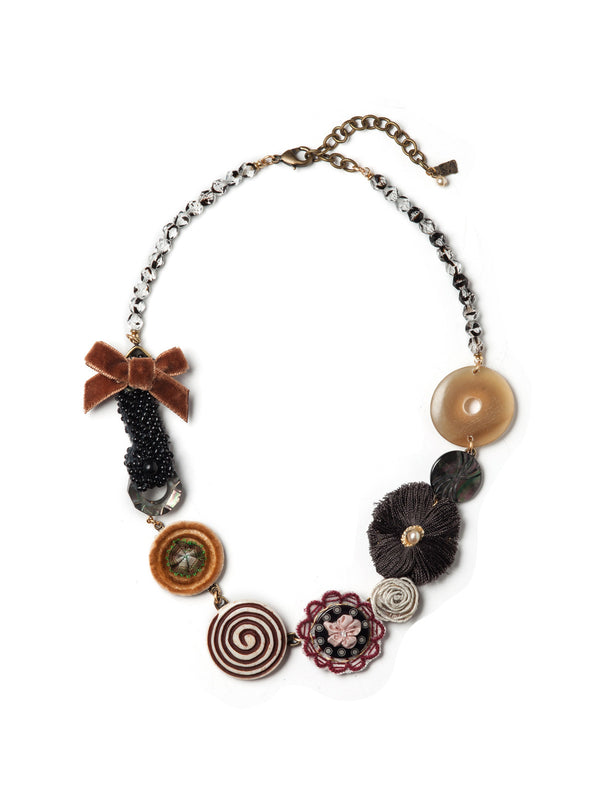 Autumn Swirl Necklace