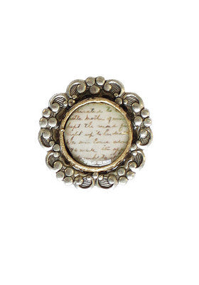 Royal Text Ring #J16R