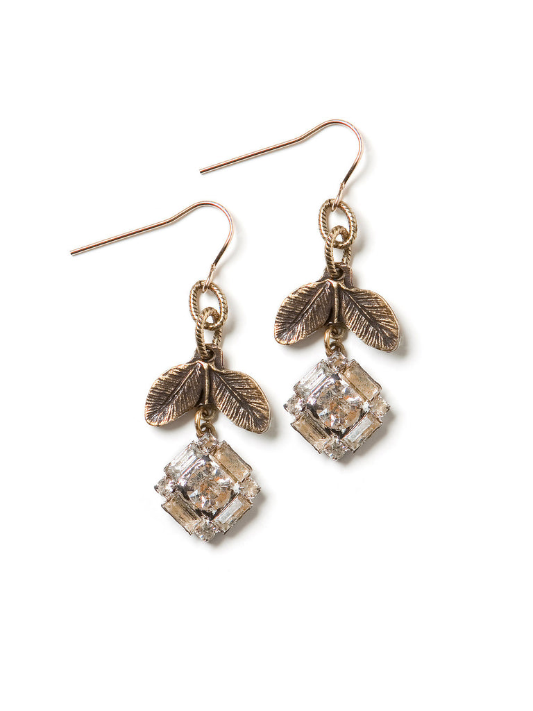 Crystal Spring Earrings #K16E
