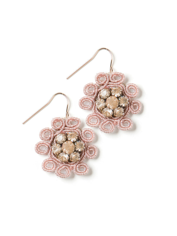Coral Night Earrings #K20RE