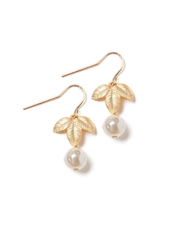 Queen's Pearl Earrings #K24E