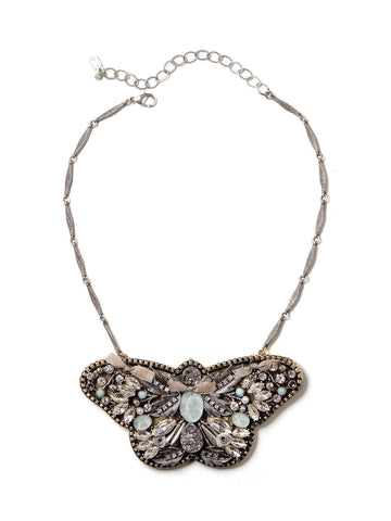 Butterfly Statement Necklace - #L04N