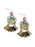 Floral Statement Earrings #L21E