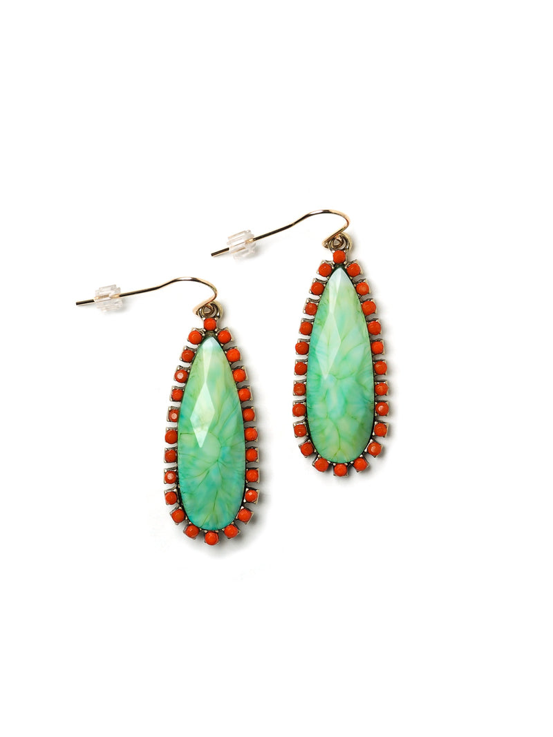 Demeter Teardrop Drop Earrings