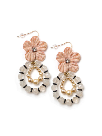 Pastel And Pearls Earrings #L27E