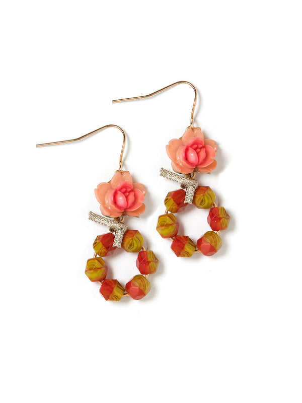 Retro Spring Earrings by Elements Jill Schwartz