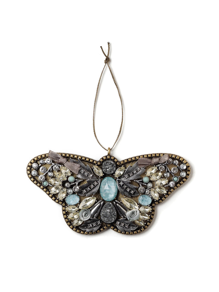Bejeweled Butterfly Holiday Ornament #OR12