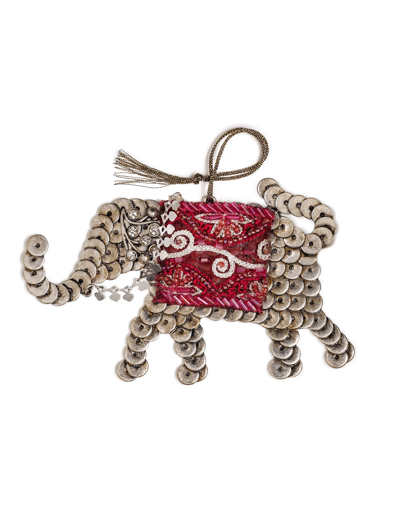 Sacred Elephant Holiday Ornament #OR28