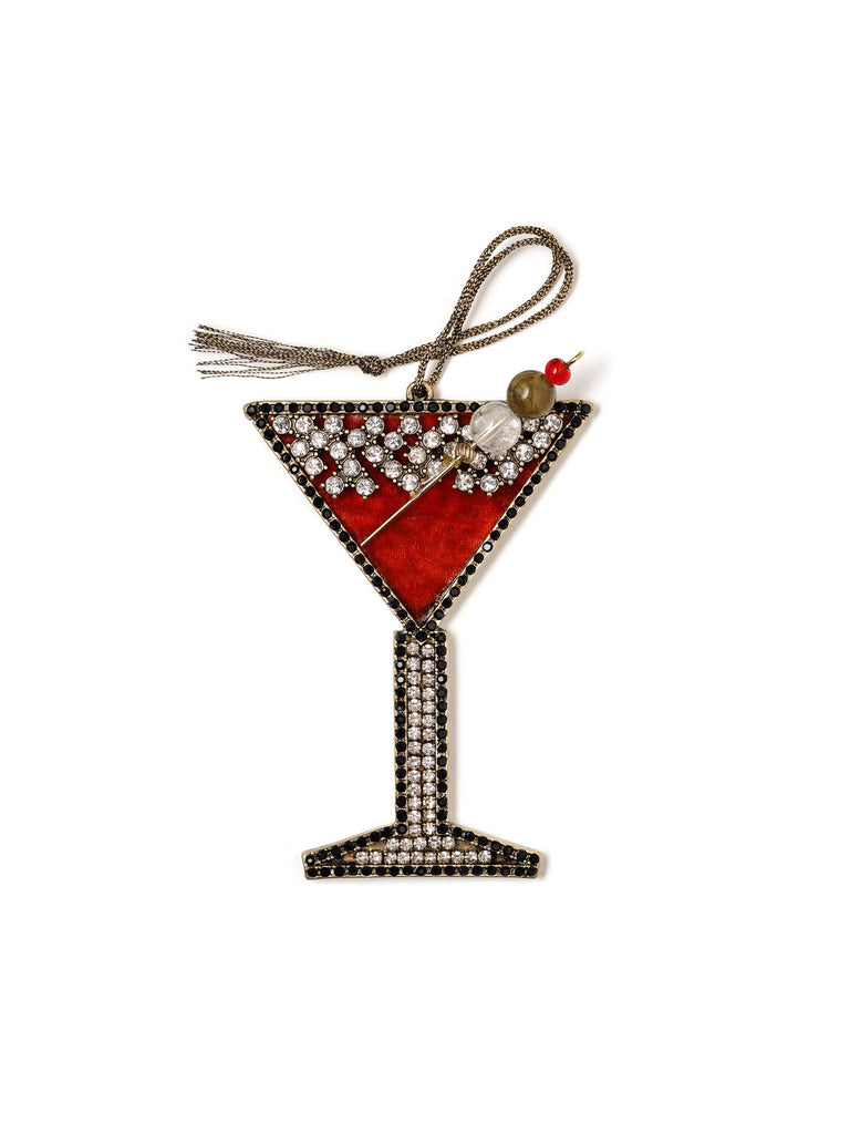 Holiday Cocktail Ornament #OR30
