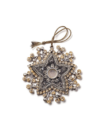 Bejeweled Star Holiday Ornament #OR31
