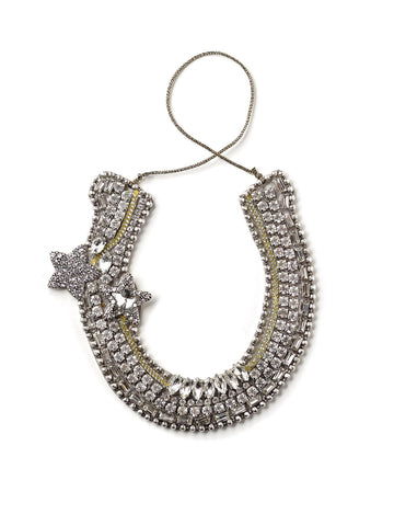 Bejeweled Horseshoe Ornament #OR44