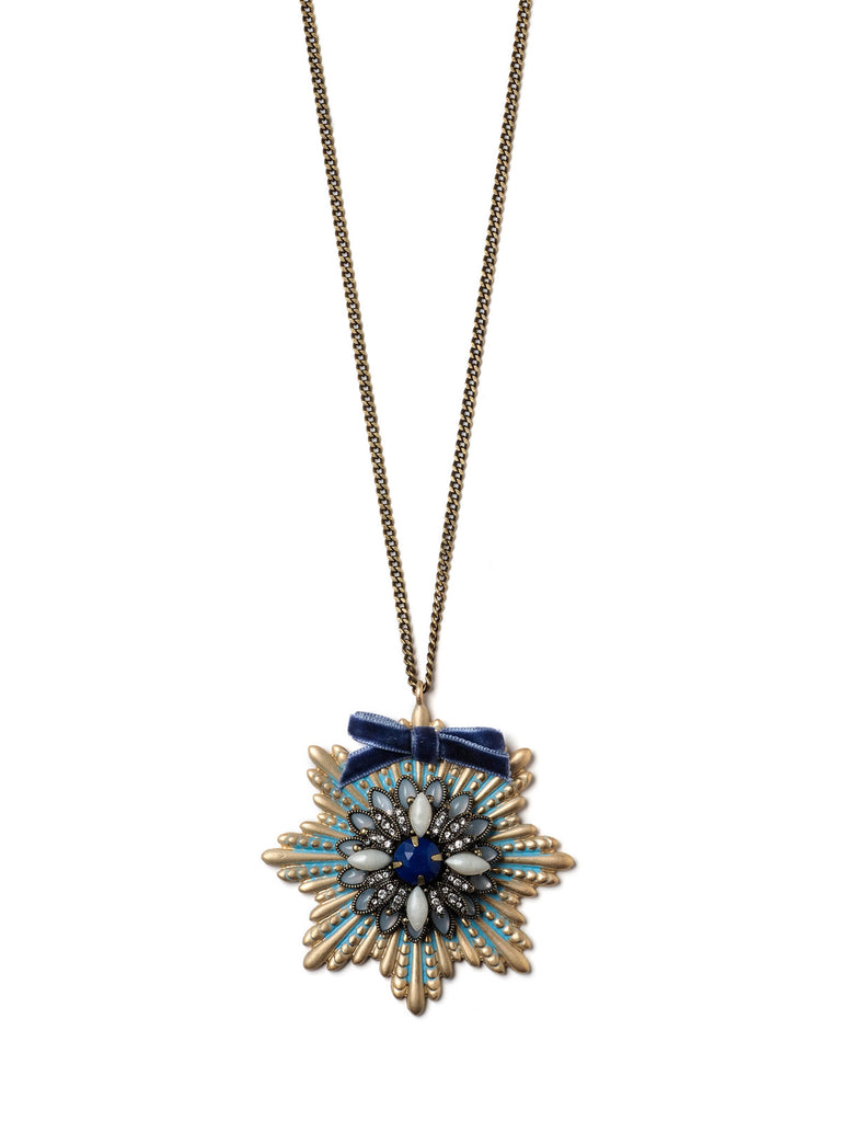 Starburst Pendant Necklace #ORN17