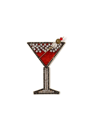 Holiday Cocktail Pin #ORP30