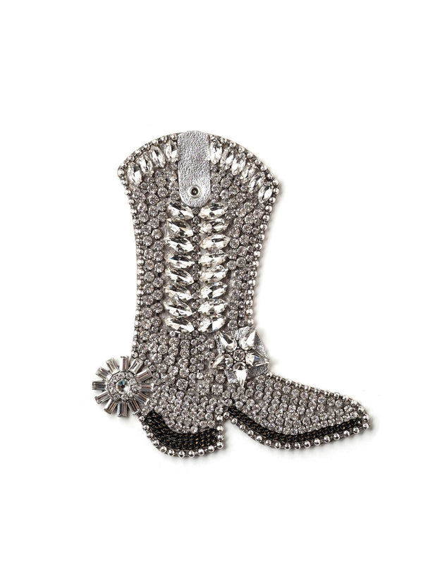 Bejeweled Cowboy Boot Pin