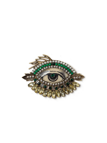 The Eye Has It Pin (Green Edition) #ORP6