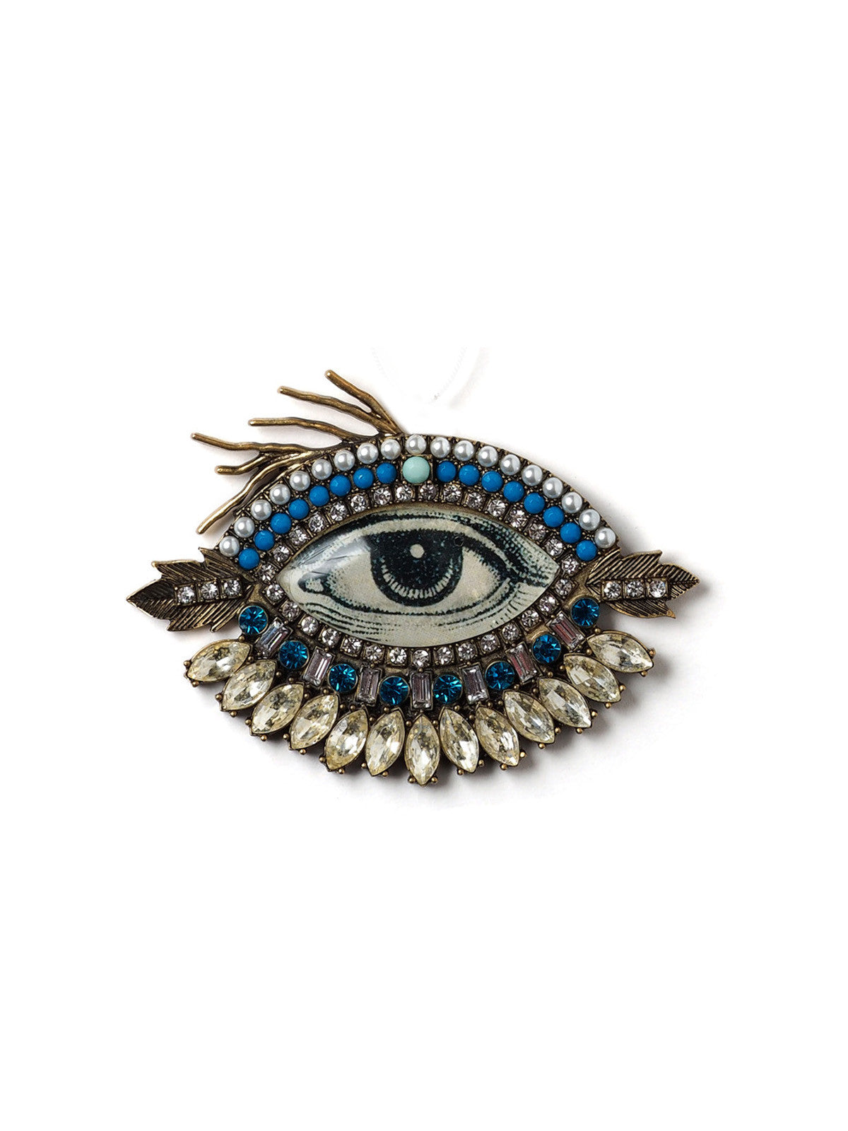 en brooch broche blue celeste mogador m eye product oeil bleu by