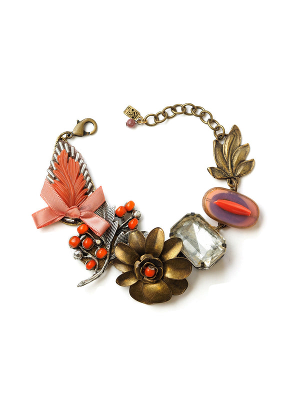 Forbidden Fruit Statement Bracelet by Elements Jill Schwartz