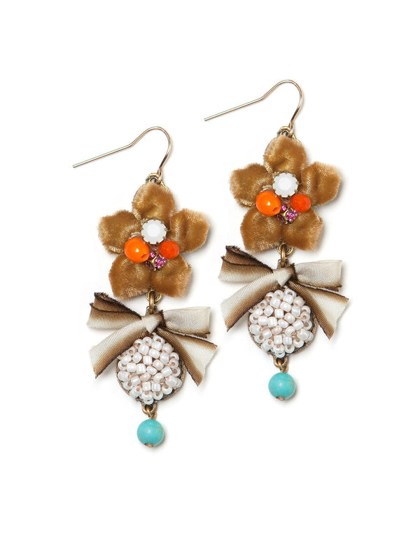 Retro Harvest Earrings #P23E