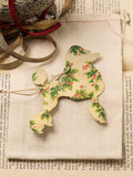 Vintage Poodle Holiday Ornament Set #OKL07