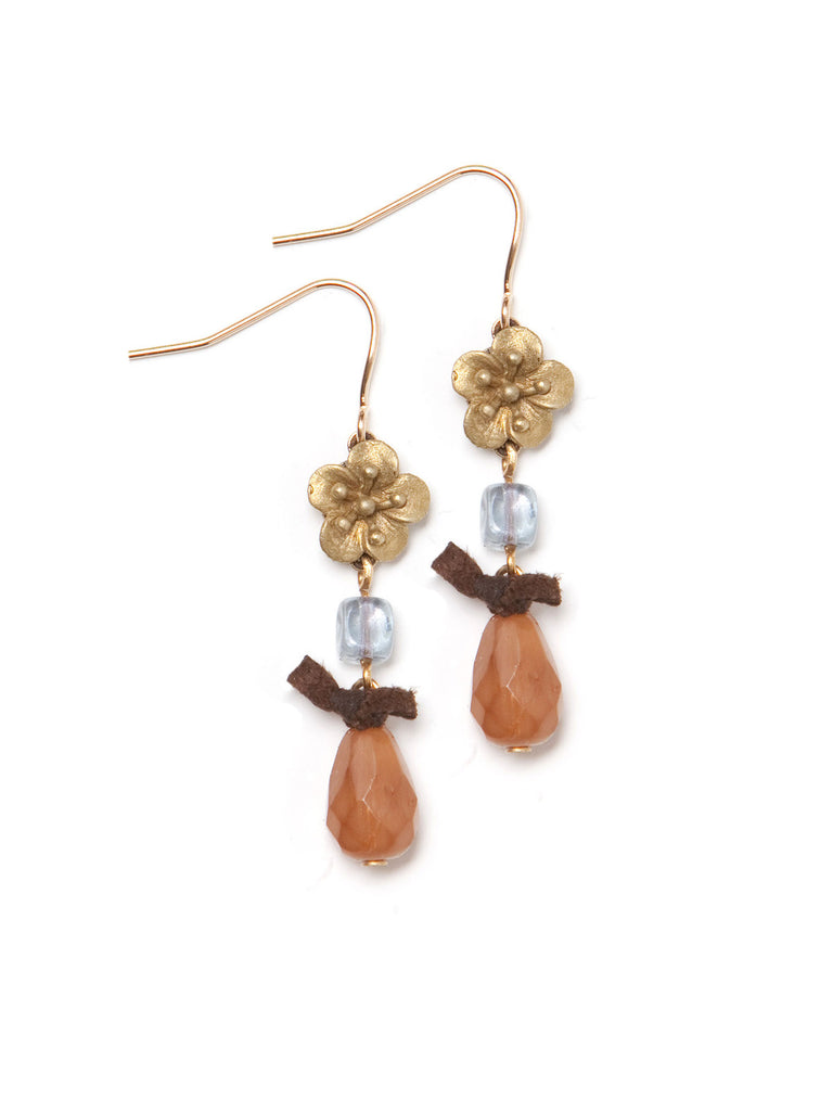 Apricot Dream Earrings #Q25E